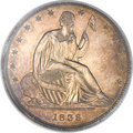 Patterns, 1838 P50C Seated Liberty Half Dollar, Judd-79a, Pollock-86, LowR.7, PR64 PCGS....