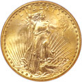 Saint-Gaudens Double Eagles, 1922-S $20 MS64 NGC....