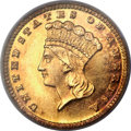 Gold Dollars, 1884 G$1 MS67 PCGS....