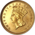 Proof Gold Dollars, 1876 G$1 PR65 NGC....