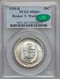 Commemorative Silver, 1950-D 50C Booker T. Washington MS66+ PCGS. CAC....