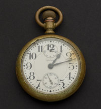 Waltham 23 Jewel Vanguard Up/Down Indicator Pocket Watch For Parts