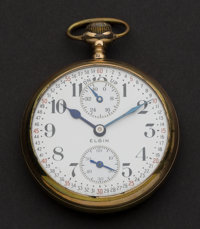 Elgin 17 Jewel B.W. Raymond With Indicator Pocket Watch