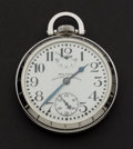 Timepieces:Pocket (post 1900), Waltham 23 Jewel Vanguard With Up/Down Indicator Pocket Watch. ...