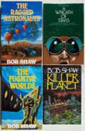Books:Science Fiction & Fantasy, [Jerry Weist]. Bob Shaw. Group of Four First Edition Books, Two Signed. 1977-1989. Fine.... (Total: 4 Items)