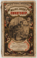 Books:Fiction, William Tappan Thompson. Major Jones's Courtship. T. B.Peterson, ca. 1880. Publisher's wrappers. Good....