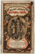 Books:Fiction, William Tappan Thompson. Major Jones's Sketches of Travel.T. B. Peterson, ca. 1880. Publisher's wrappers. Good....
