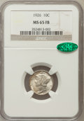 Mercury Dimes: , 1926 10C MS65 Full Bands NGC. CAC. NGC Census: (89/42). PCGSPopulation (163/98). Mintage: 32,160,000. Numismedia Wsl. Pric...