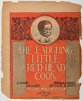 Books:Music & Sheet Music, Ellis G. Berg. The Laughing Little Red-Head Coon. Tillmann, 1900. Poor....