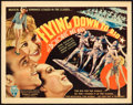 "Movie Posters:Musical, Flying Down to Rio (RKO, 1933). Title Lobby Card (11"" X 14"").. ..."