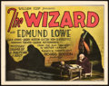 "Movie Posters:Horror, The Wizard (Fox, 1927). Title Lobby Card (11"" X 14"").. ..."