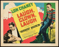 "Movie Posters:Drama, Laugh, Clown, Laugh (MGM, 1928). Title Lobby Card (11"" X 14"").. ..."