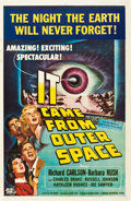 "Movie Posters:Science Fiction, It Came from Outer Space (Universal International, 1953). One Sheet(27"" X 41"") 2-D Style.. ..."