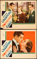 "Movie Posters:Drama, Possessed (MGM, 1931). Lobby Cards (2) (11"" X 14"").. ... (Total: 2 Items)"