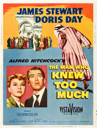 """The Man Who Knew Too Much (Paramount, 1956). Poster (30"""" X 40"""") Style Z"""
