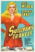 """Movie Posters:Comedy, Sullivan's Travels (Paramount, 1941). One Sheet (27"""" X 41"""") Style A.. ..."""