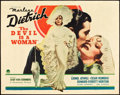 """Movie Posters:Romance, The Devil is a Woman (Paramount, 1935). Half Sheet (22"""" X 28"""") Style A.. ..."""