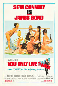 """You Only Live Twice (United Artists, 1967). One Sheet (27"""" X 41"""") Style C"""