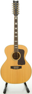 Musical Instruments:Acoustic Guitars, Circa Early 1980's Hohner G-731 Natural 12 String Acoustic Guitar, #E08837....