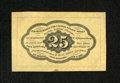 """Fractional Currency:First Issue, Fr. 1282SP 25c First Issue Medium Margin Back Specimen Choice New. """"Medium"""" margin is the best way to describe this Specimen..."""