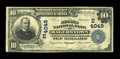 National Bank Notes:Maryland, Hagerstown, MD - $10 1902 Plain Back Fr. 626 The Second NB Ch. #(E)4049. ...