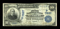 National Bank Notes:Oregon, Newberg, OR - $10 1902 Date Back Fr. 616 The First NB Ch. # (P)7537. ...