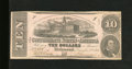 Confederate Notes:1862 Issues, T52 $10 1862. Nice edges for the grade envelope this $10. Fine....