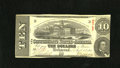 Confederate Notes:1863 Issues, T59 $10 1863. This is an evenly circulated example for the grade ofFine....