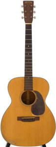 Musical Instruments:Acoustic Guitars, 1942 Martin 000-18 Natural Acoustic Guitar, Serial # 81075....