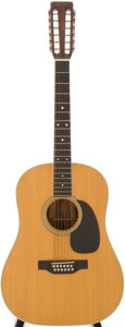 Musical Instruments:Acoustic Guitars, 1969 Martin D-35 Natural Acoustic Guitar, Serial # 253574....