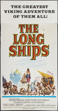 "Movie Posters:Adventure, The Long Ships (Columbia, 1963). Three Sheet (41"" X 81"").Adventure.. ..."