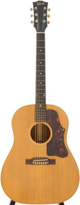 Musical Instruments:Acoustic Guitars, 1956 Gibson J-50 Natural Acoustic Guitar, Serial # V4398....