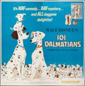 "Movie Posters:Animation, 101 Dalmatians (Buena Vista, R-1969). Six Sheet (77"" X 77"").Animation.. ..."