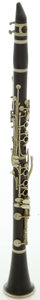 Musical Instruments:Horns & Wind Instruments, Circa 1950's Selmer Centered Tone Clarinet, #Q4038....