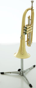 Musical Instruments:Horns & Wind Instruments, Recent Blessing XI USA Brass Flugelhorn, #460387....