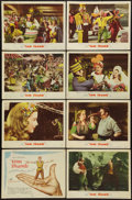 "Movie Posters:Fantasy, Tom Thumb (MGM, 1958). Lobby Card Set of 8 (11"" X 14""). Fantasy..... (Total: 8 Items)"