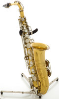 Musical Instruments:Horns & Wind Instruments, Circa 1980's King Cleveland 613 Brass Alto Saxophone, #623050....