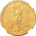Proof Saint-Gaudens Double Eagles, 1914 $20 PR66 NGC....