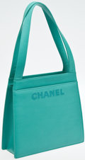 Luxury Accessories:Bags, Chanel Turquoise Lambskin Leather Mini Tote. ...
