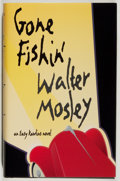 Books:Mystery & Detective Fiction, Walter Mosley. INSCRIBED. Gone Fishin'. Black Classic Press, 1997. Signed and inscribed by the author. Fine....