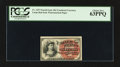 Fractional Currency:Fourth Issue, Fr. 1257 10¢ Fourth Issue PCGS Choice New 63PPQ.. ...
