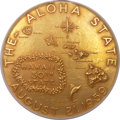 20th Century Tokens and Medals, Three-Piece NGC-Certified Set of Medallic Art Co. Hawaii Statehood Medals.... (Total: 3 medals)
