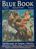 Pulp, Pulp-like, Digests, and Paperback Art, The Triumph of Tarzan, Blue Book Magazine pulp group. 10/31-11/31,and 3/32, 3 total. Average condition: VG/Fine. From t... (Total:3 Items)