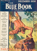 Paintings, Tarzan, Guard of the Jungle, Blue Book Magazine, pulp group. 10/30-12/30, and 1/31-4/31, 7 total. Average condition: VG/Fine... (Total: 7 Items)