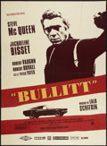 "Movie Posters:Crime, Bullitt (Solis, R-1990s). French Grande (47"" X 63""). Crime.. ..."