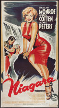 "Movie Posters:Film Noir, Niagara (20th Century Fox, R-1980s). French Grande (33.5"" X 61.5"").Film Noir.. ..."