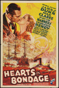 "Movie Posters:War, Hearts in Bondage (Republic, 1936). One Sheet (27"" X 41""). War....."