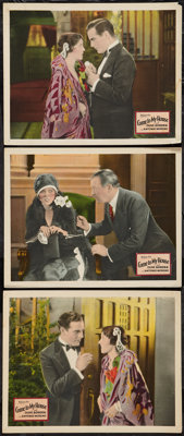 """Come to My House (Fox, 1927). Lobby Cards (3) (11"""" X 14""""). Drama. ... (Total: 3 Items)"""