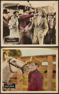 "Movie Posters:Western, The War Horse & Other Lot (Fox, 1927). Lobby Cards (2) (11"" X14""). Western.. ..."