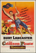 """Movie Posters:Adventure, The Crimson Pirate (Warner Brothers, 1952). One Sheet (27"""" X 41"""").Adventure.. ..."""
